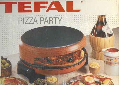 Four a mini pizza tefal